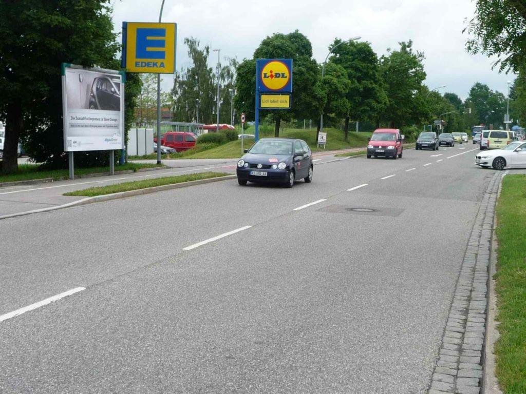 Lindauer Straße, B 12, Tankstelle/EDEKA/Lidl