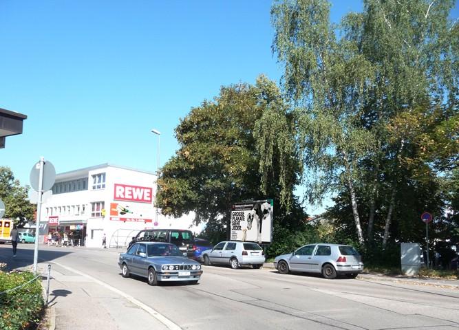 Haubenschloßstr. nh. / Bahnhofstr. REWE
