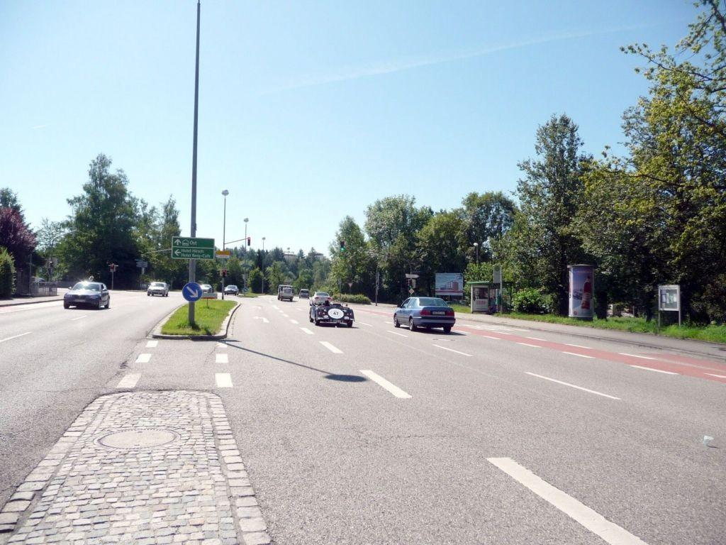 Schumacherring, B 309 / Lenzfrieder Straße, Bush.
