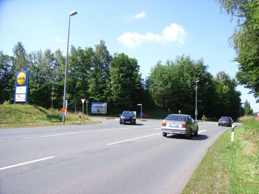 Sauerbruchstr. nh. / Nürnberger Str., B 2 nh. Lidl