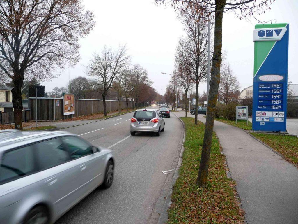 Burghauser Str.gg. OMV-Tankstelle nh. / Daimlerstr.