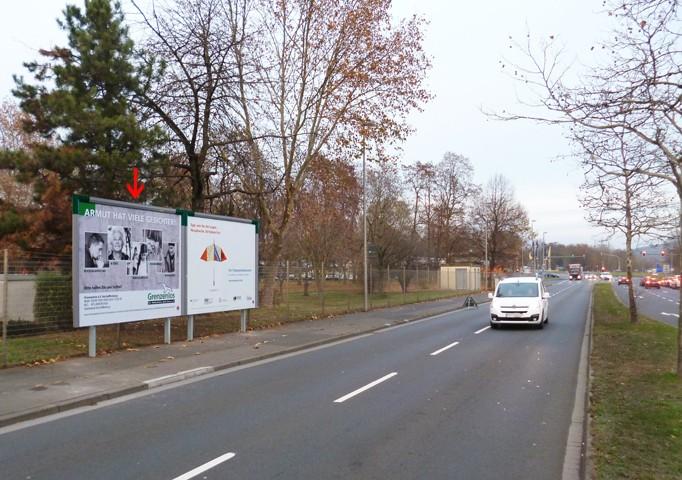 Schönbornstraße gg. 50, B 26, Mc Donald's