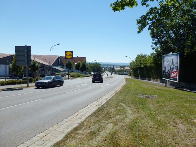 Hofheimer Straße gg. Lidl (Gewerbegebiet Am Rödersgraben)