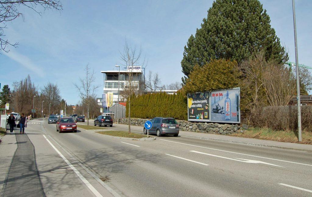 Memmingerstr. 138/geg. Eisstadion/Zufahrt E-C+C Großmarkt