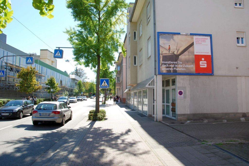 Weissenburger Str. 8/geg. Vinzentius KKH (quer zur B 38)