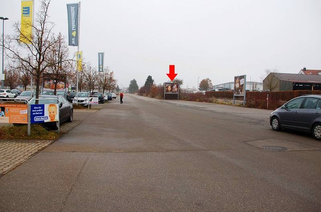 An den Langenwiesen 1 /E-center/Einfahrt (lks)