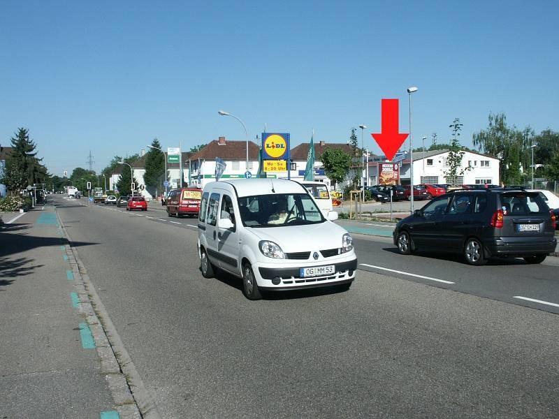Freiburger Str. 14/B 3/geg. Lidl/Sicht Markt (quer zur Str)