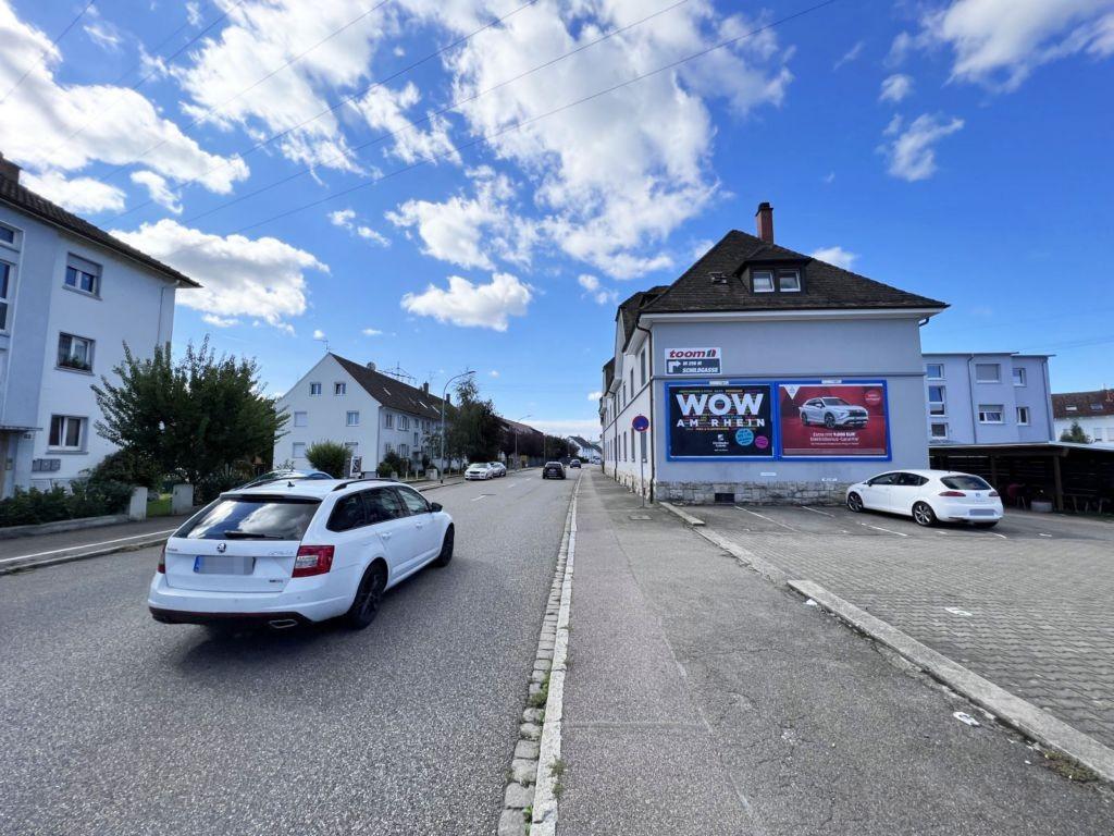 Friedrichstr. 125/B 34 (quer am Giebel)