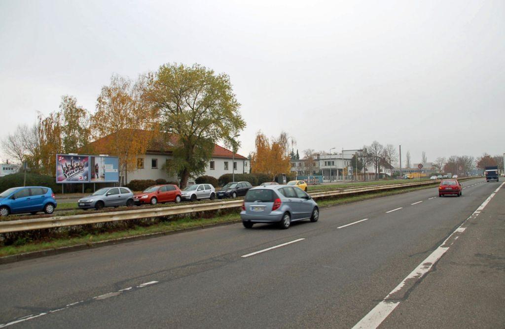 Seckenheimer Landstr. 220/Zufahrt Lidl (rts)