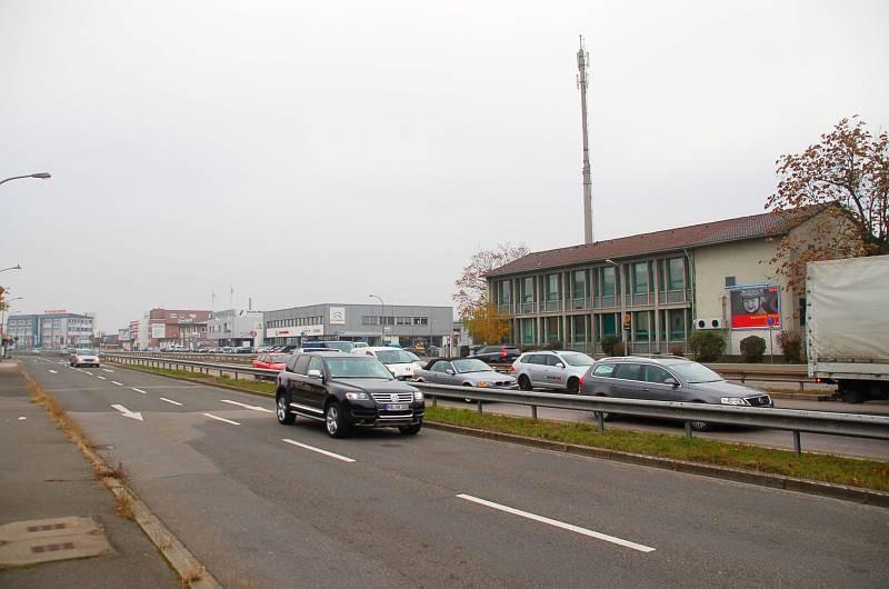 Weinheimer Str/B 38/Saarbrücker Str. 1-5