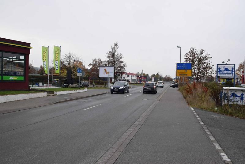 Bamberger Str. 125a/geg. McDonald's/Zufahrt Jawoll/ WE lks