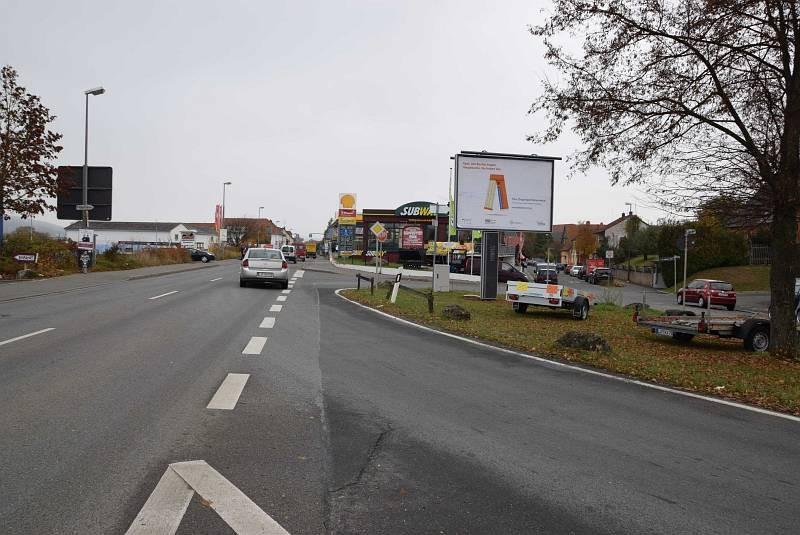 Bamberger Str. 125a/geg. McDonald's/Zufahrt Jawoll/WE rts