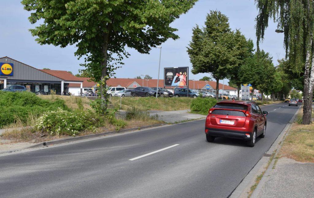 Berliner Allee 30c /Lidl/lks von Einfahrt/Sicht Str/WE lks