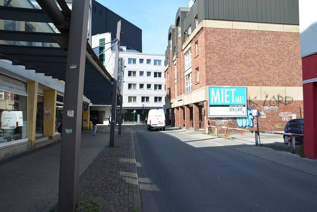 Stubengasse/Ecke Reinoldistr. 21-23 (quer am Giebel)