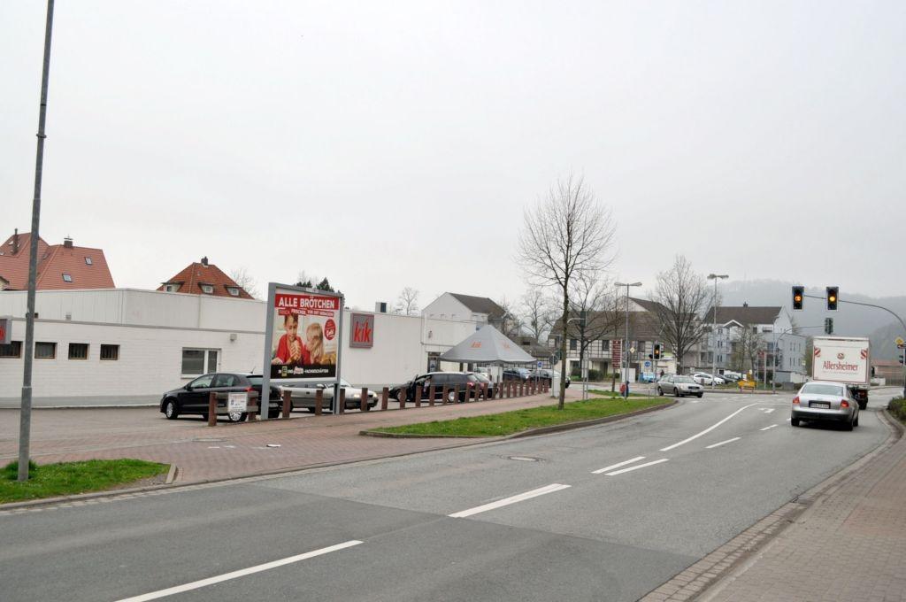 Rühler Str/Ecke Brückenstr. 10/bei KiK