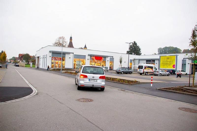 Reiserstr. 6-8 /Rewe/geg. Eingang/Sto. 1/Sicht Str