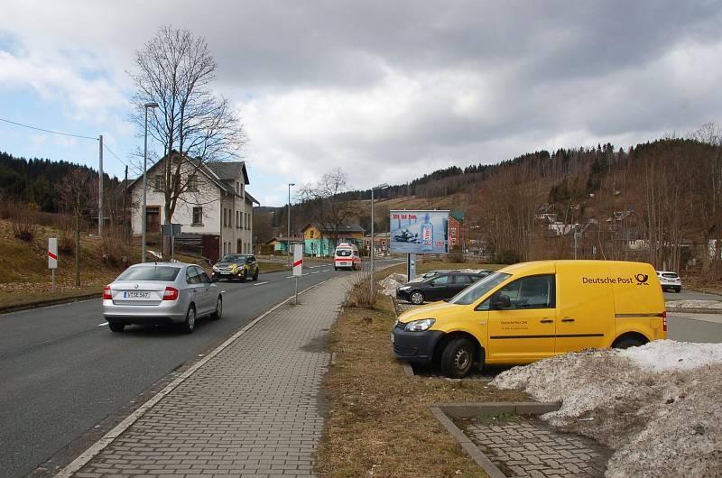 Markneukirchner Str/B 283/Markgrafen Getränke (Sicht Kik)