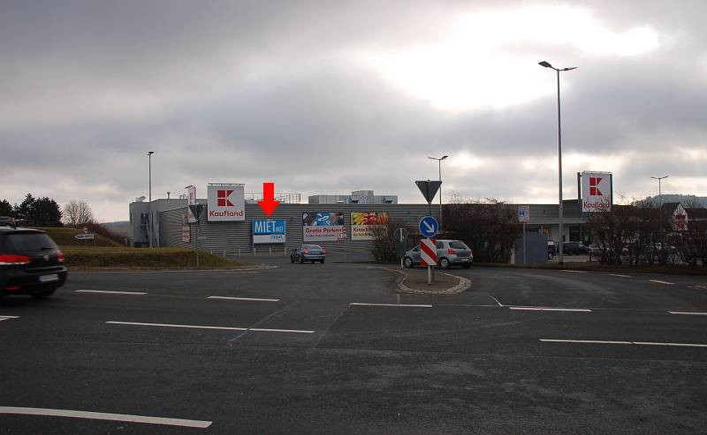 Oettersdorfer Str. 40 /Kaufland/Einfahrt