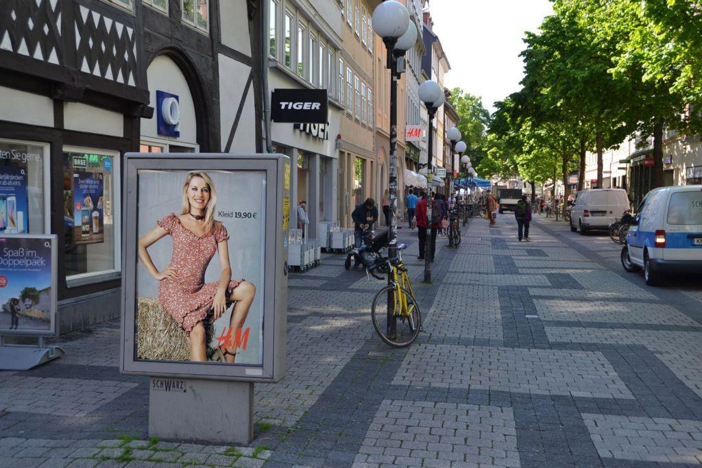 Weender Str/Jüdenstr/bei O2-Shop (Sicht Jüdenstr)