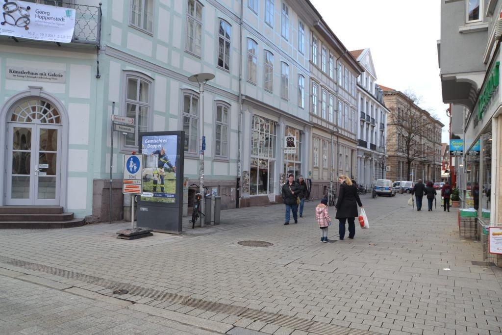 Prinzenstr/Ecke Gotmarstr/WE lks (Sicht Netto)