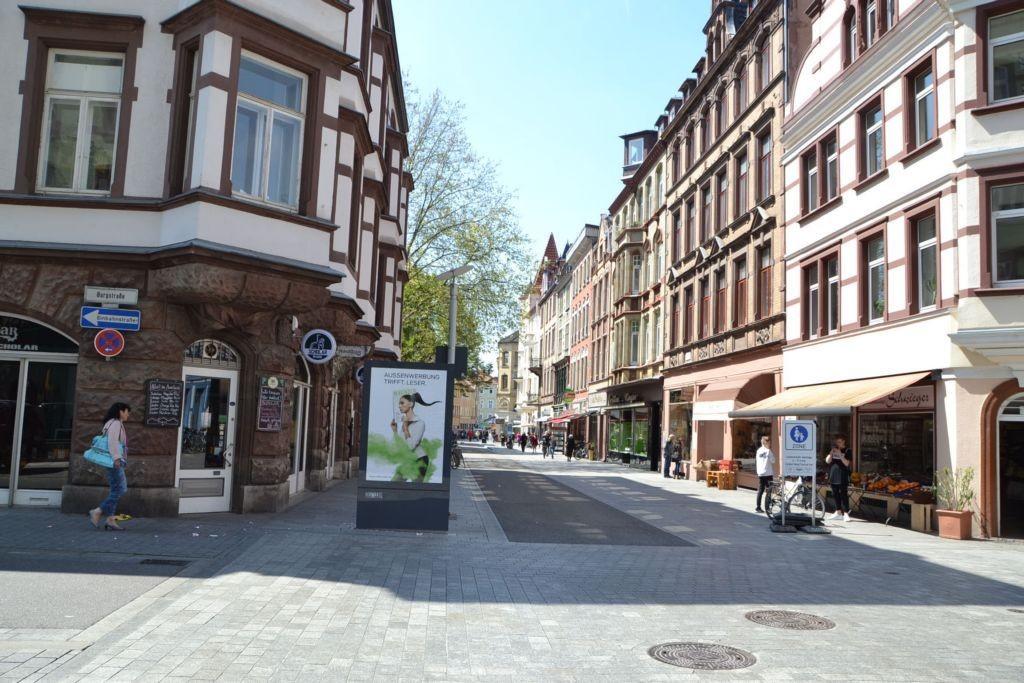 Theaterstr/Ecke Burgstr (Sicht Burgstr)