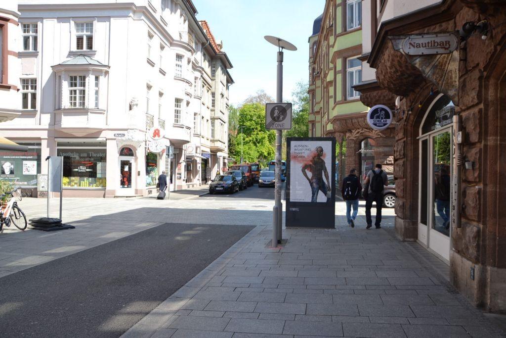 Theaterstr/Ecke Burgstr (Sicht Fußgängerzone)