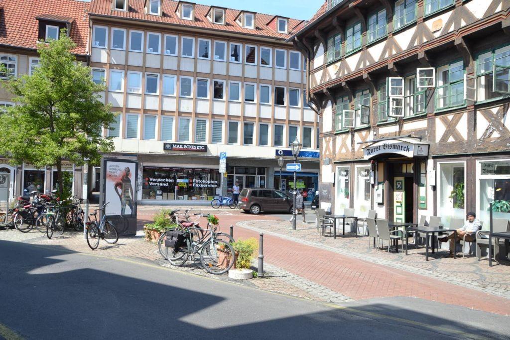 Papendiek/Ecke Johannisstr/Sicht Johannisstr