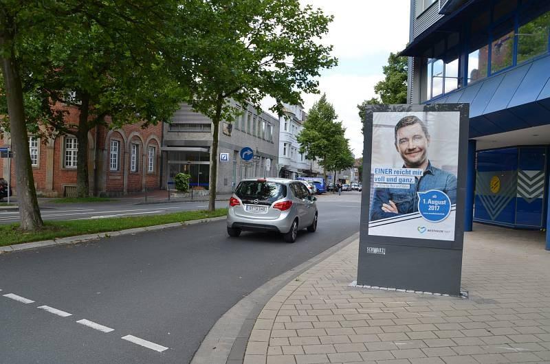 Eickhoffstr/geg. Stohlmannplatz/Sicht Kaiserstr