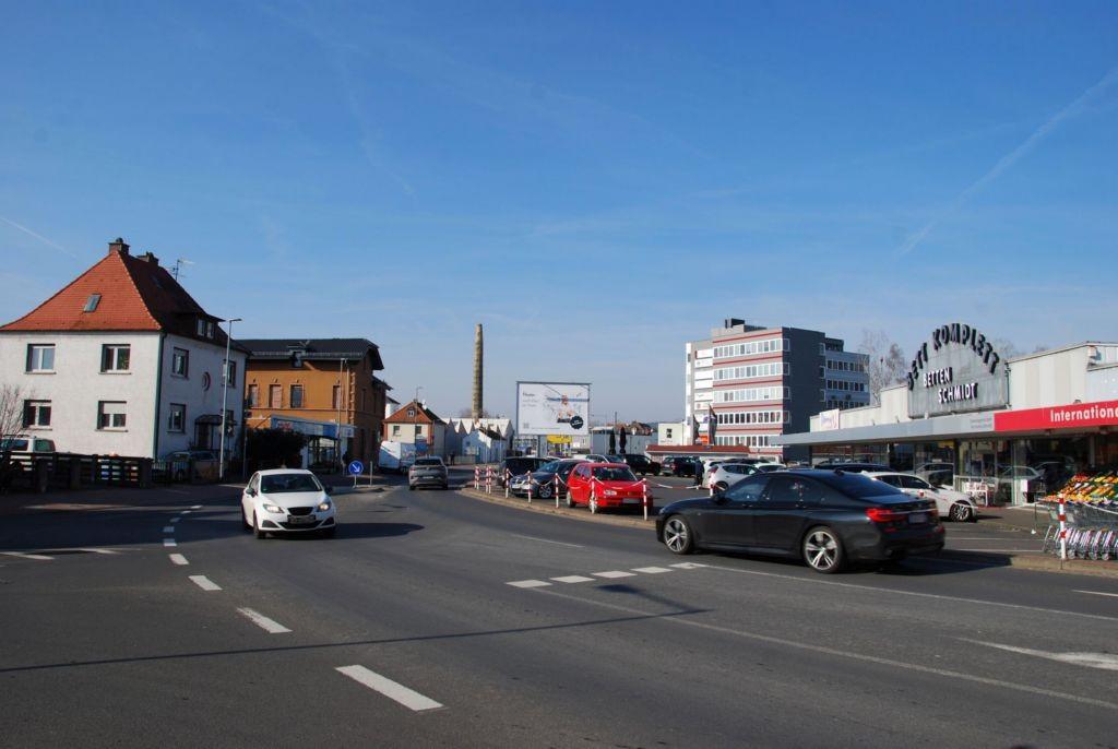 Stadtweg 7/Zufahrt Rewe/Sicht Rewe (City-Star)