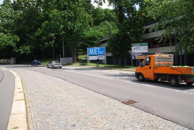 Paulus-Jenisius-Str/B101/nh.Schlachthofplatz/vor PH/rts-quer