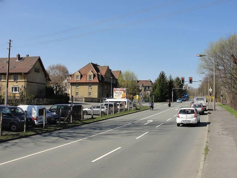 Stauffenbergstr. 14/quer zur B 6/WE lks (Höhe Kreuzung)