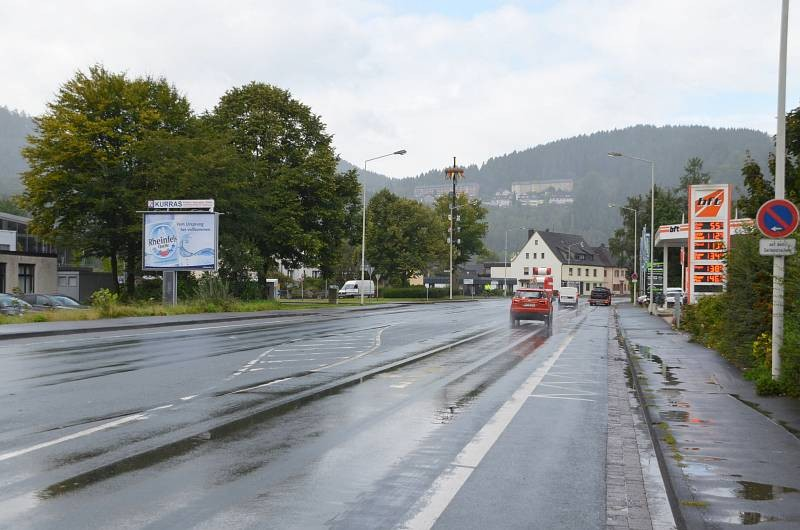 Lennestr/B 236/Am Eisenwerk 1/geg. Tkst/Sicht Aldi (CSB)