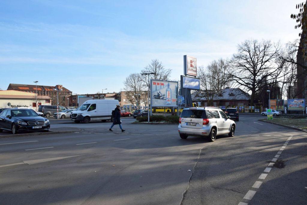 Friedrichshagener Str /Kaufland/geg. Einf lks (Sicht Einf)
