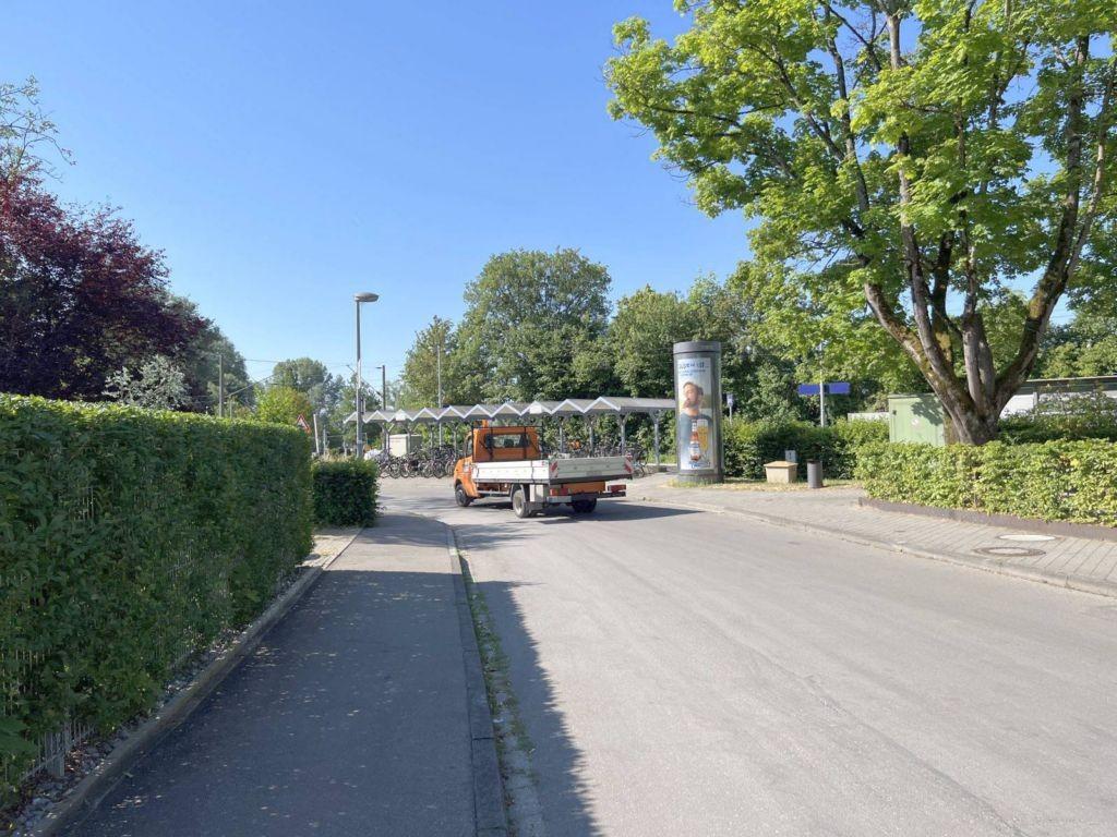 Unterdorfstr/beim Bahnhof  (Markelfingen) -Drehsäule