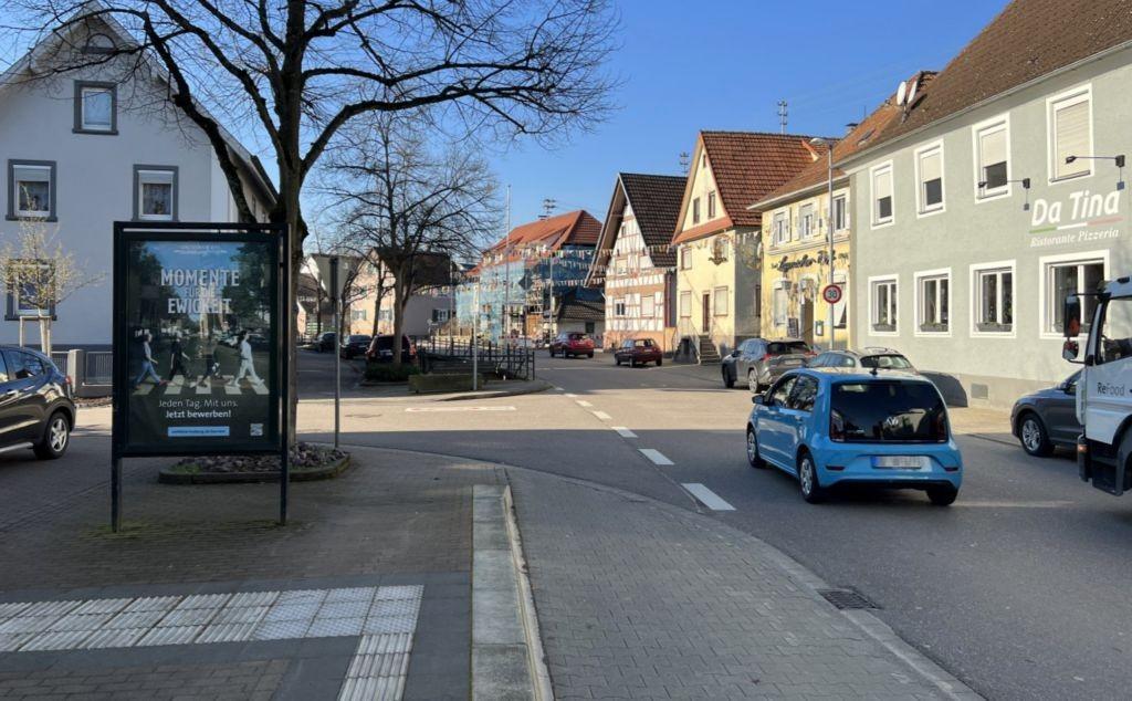 Geroldsecker Str. 9 (Sicht Haltestelle)