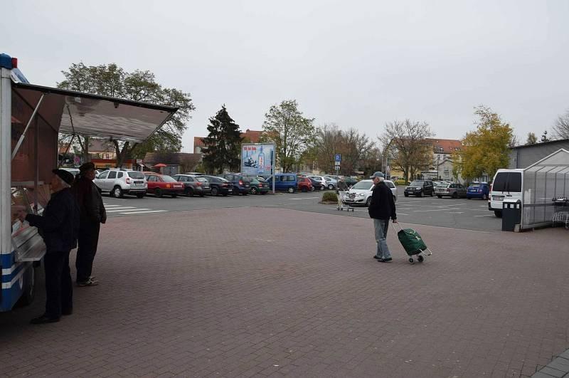 Kaltenborner Str /Kaufland/geg. Eingang/Sicht Eingang
