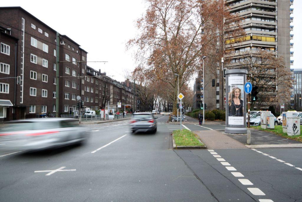 Kaiserswerther Str/geg. Nr. 120/Ecke Kennedydamm/B 1