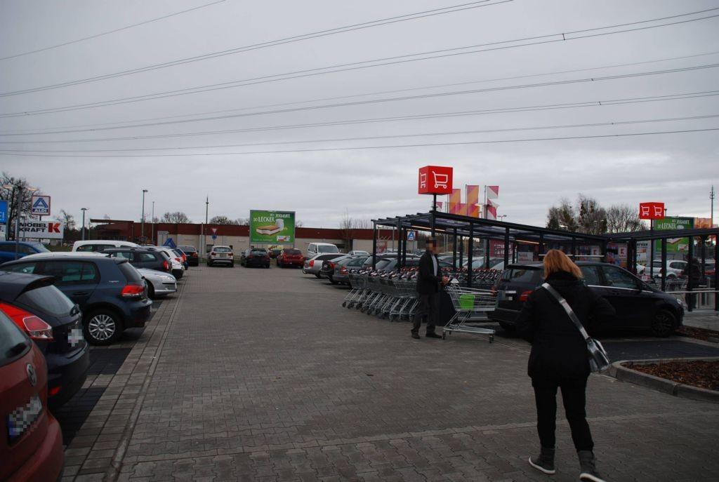 Frankfurter Chaussee 48 /Kaufland/nh. Kreisel/Si Markt (rts)