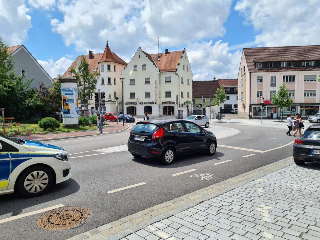 Wackersdorfer Str. - Regensburger Str.   3.50/3.60