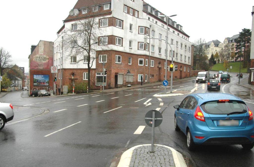 Johannisstr  10/Bismarckstr nh/Hst Hafermarkt