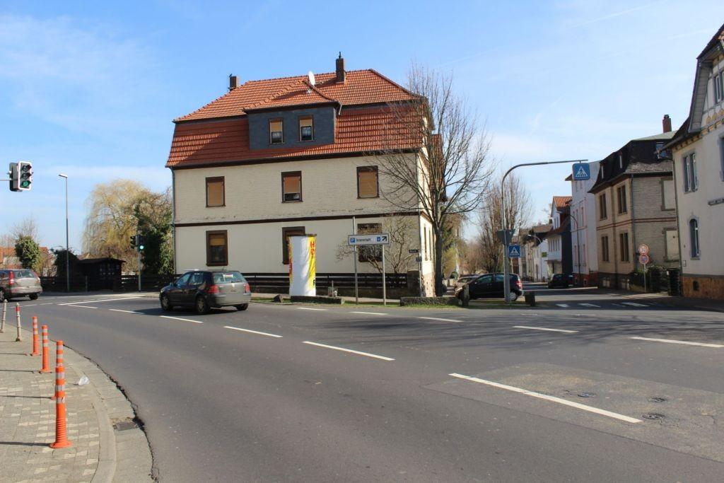 Alicestr (B 49)/Grünberger Str