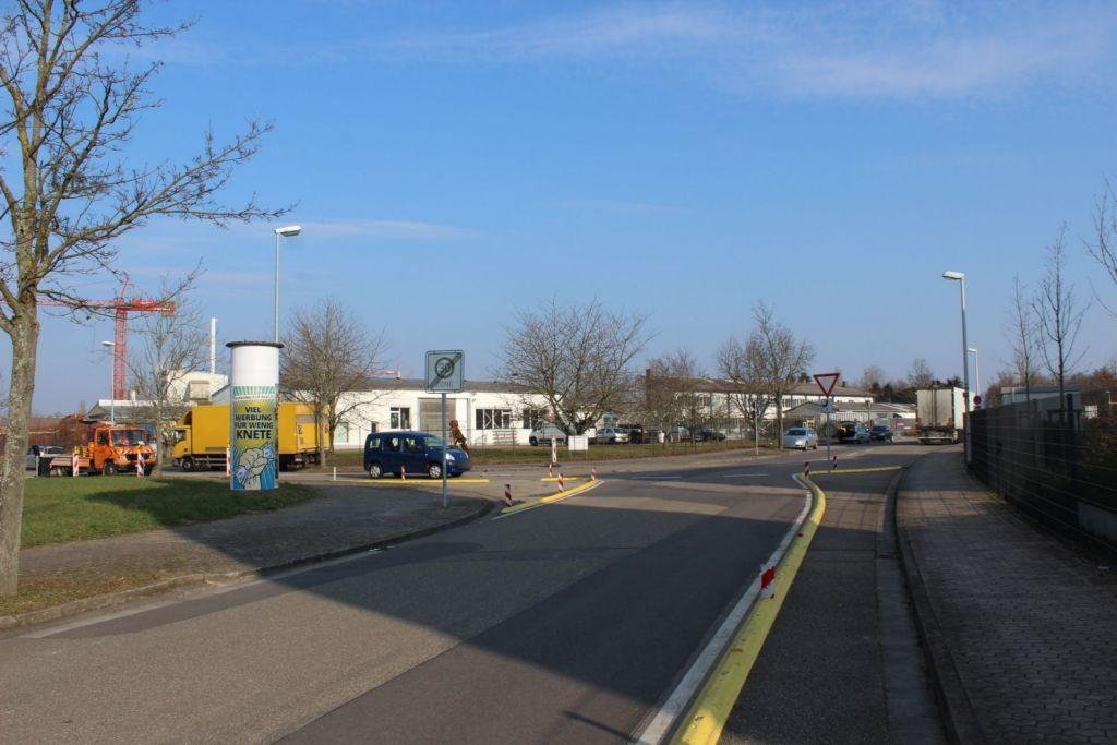 Heinrich-Hertz-Str/Linkenheimer Weg
