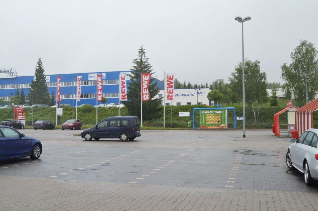 Industriestr. 6 Rewe Center Eing.