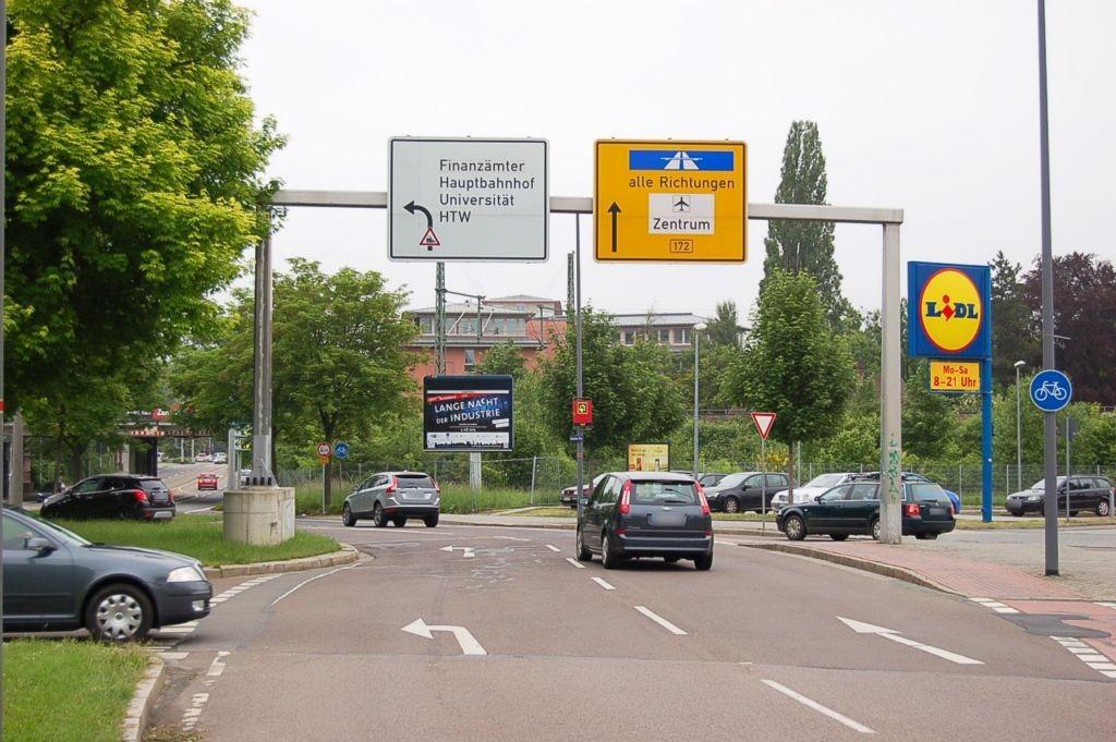 Strehlener Platz ew (B 172)/August-Bebel-Str