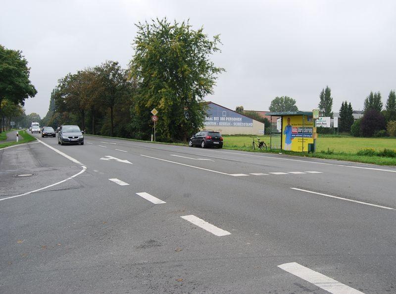 Weseler Landstr (B 8)/Grüner Weg/Hst Jasba ew