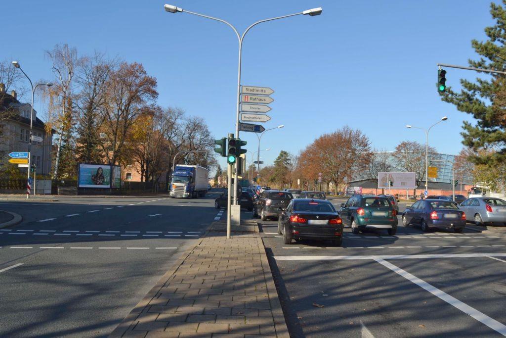 Kulmbacher Str  16 (B 15)/Ernst-Reuter-Str (B 172)