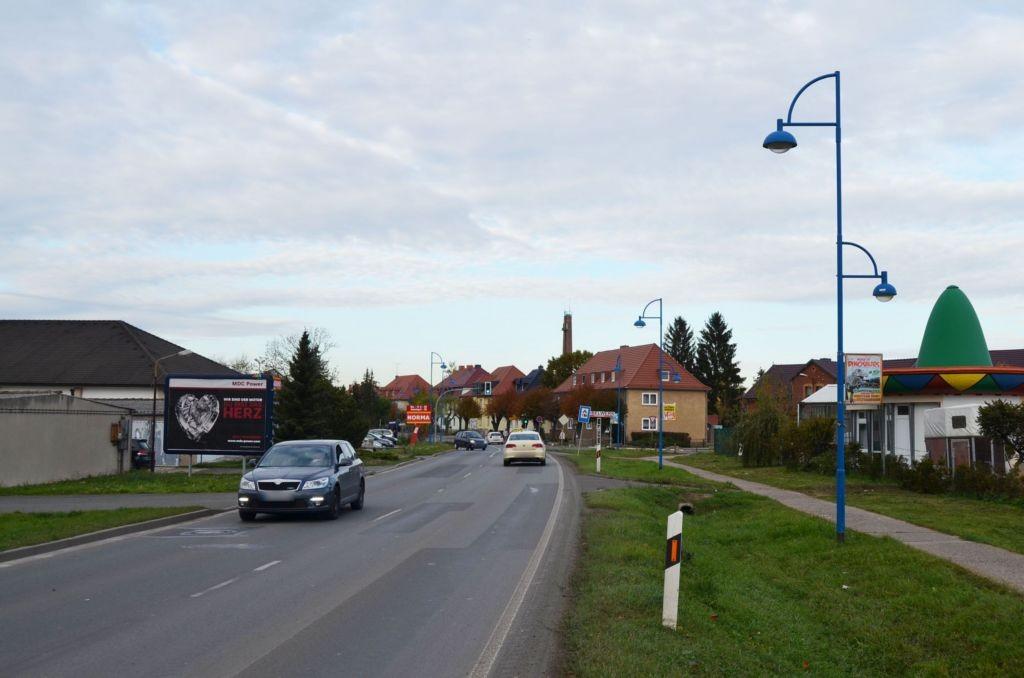 Straußfurter Str ew Garagen (B 86)/Bahnhofstr nh