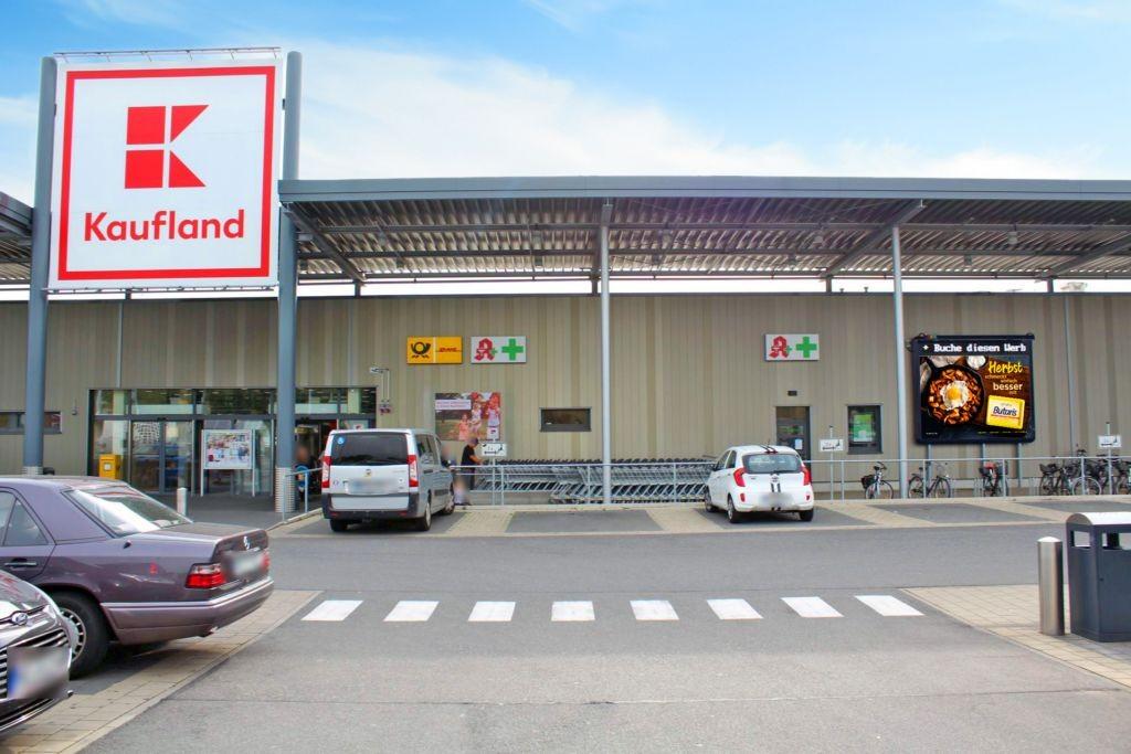 Römerstr. 120 Kaufland Eing.