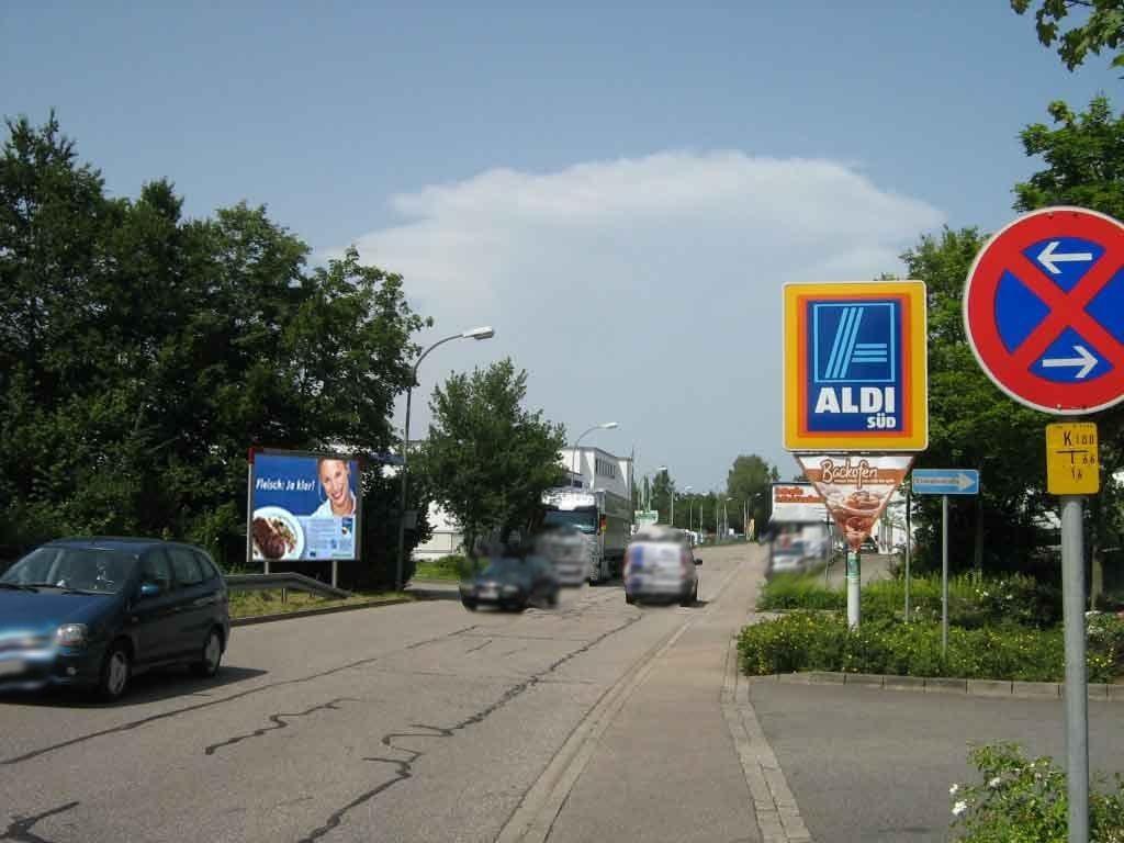 Industriestr.  geg. Einf. ALDI