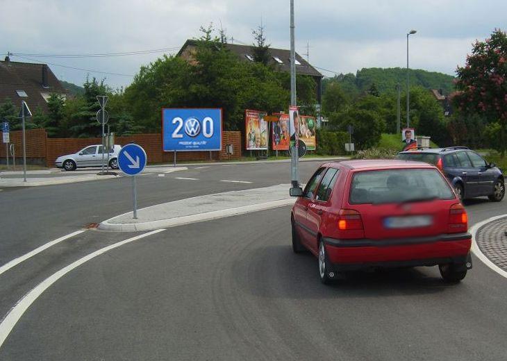 Eisenbahnstr. (B 41)  / Zwischen Wasser 13 / Zuf. Globus li. schr.